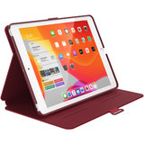 Speck Balance Folio Case Apple iPad 10.2 (2019) Dark Poppy Red_
