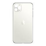 Achterkant back cover glas met logo voor Apple iPhone 11 Pro Silver_