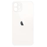 Achterkant back cover glas met logo voor Apple iPhone 12  Mini Wit_