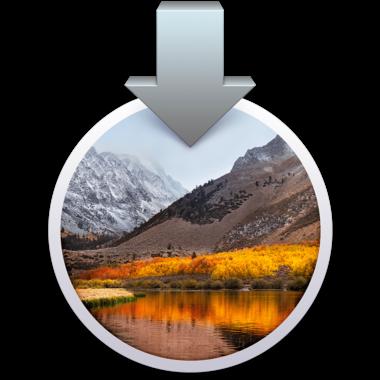 Installatie USB-stick met MacOS High Sierra (10.13)