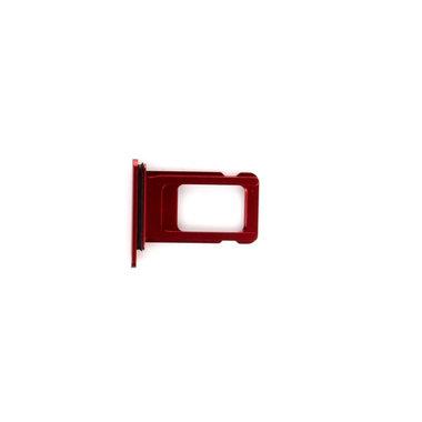 Simkaart houder voor de Apple iPhone XR rood