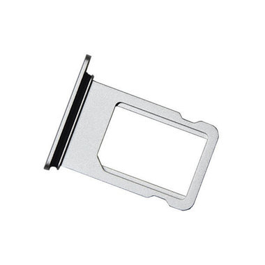 Simkaart houder sim tray  voor de Apple iPhone 8 zilver