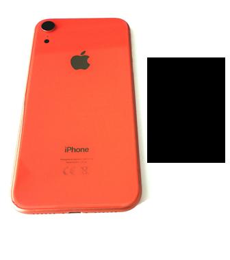 Achterkant back cover voor Apple iPhone XR koraal
