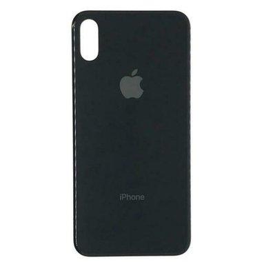 Achterkant back cover glas met logo voor Apple iPhone XS Max Space Grey