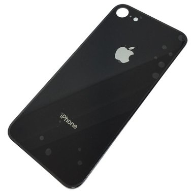 Achterkant back cover glas met logo voor Apple iPhone 8 Space Grey