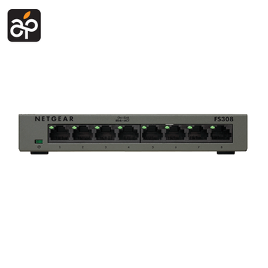 Netgear FS308 8 poorts ethernet switch