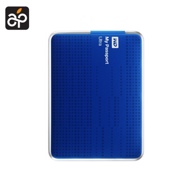 WD My Passport Ultra 2 TB Blauw
