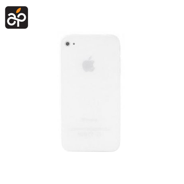 Muvit Ultra Thin Hard Case Wit voor Apple iPhone 4/4S