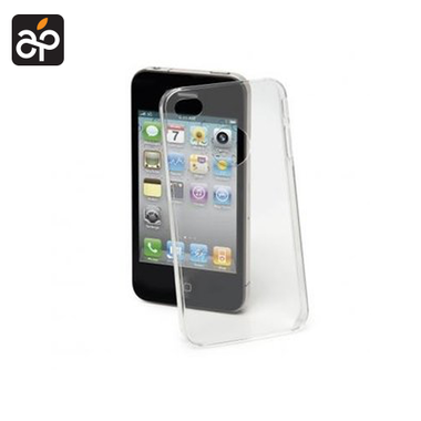 Muvit Ultra Thin Hard Case Transparant voor Apple iPhone 4/4S