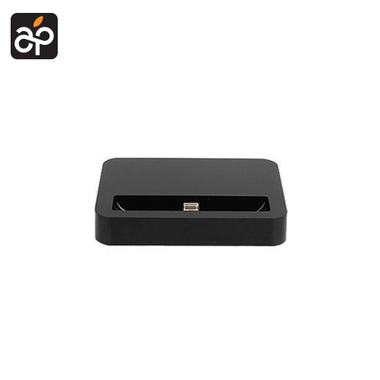 Docking station voor de Apple iPhone 5, 5c, 5S & iPod Touch 5 zwart