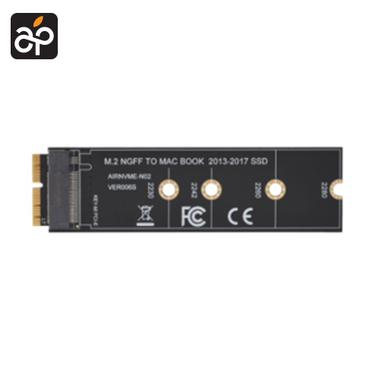 M.2 NVME SSD adapter verloop voor MacBook Air A1465 A en1466 en Pro Retina A1398 A1502 model mid 2013 -t/m 2017