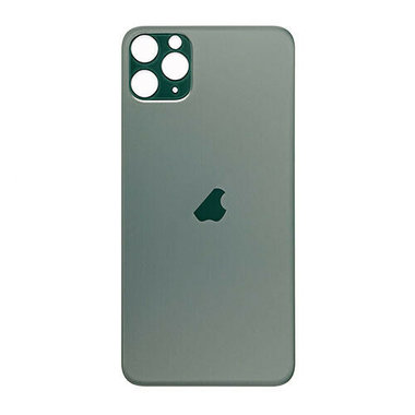 Achterkant back cover glas met logo voor Apple iPhone 11 Pro Max Midnight Green