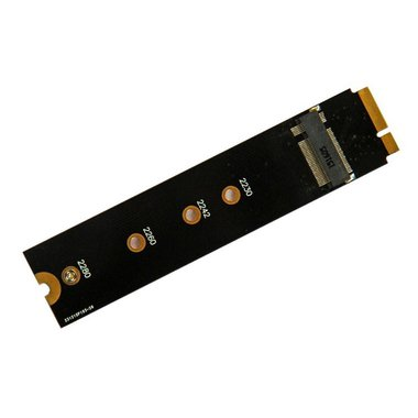 M.2 SSD adapter voor MacBook Air A1465 en A1466 model 2012