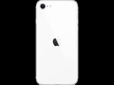 Achterkant back cover glas met logo voor Apple iPhone SE 2e generatie Wit