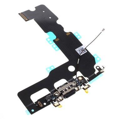 Dockconnector met audio-ingang voor de Apple iPhone 7 Plus Zwart
