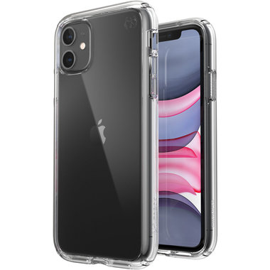 Speck presidio perfect-clear case Apple iPhone 11 Transparant