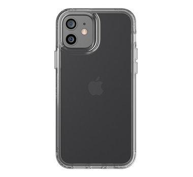 Tech21 Evo Clear case Apple iPhone 12 en 12 Pro Transparant