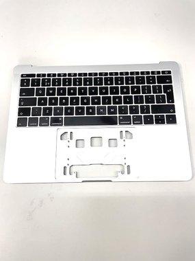 Topcase met keyboard / toetsenbord voor Apple MacBook Pro Retina 13-inch A1708 zilver