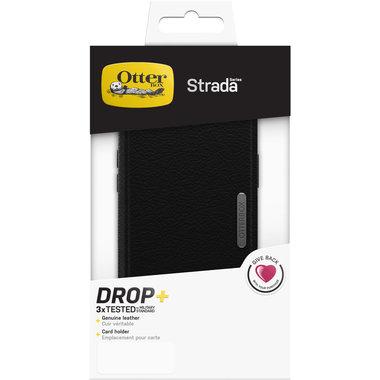 OtterBox Strada Case Apple iPhone 12 en 12 Pro Shadow Black