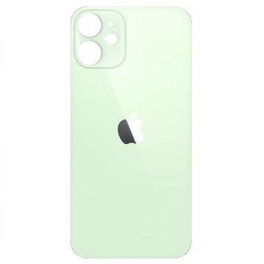 Achterkant back cover glas met logo voor Apple iPhone 12 Mini Groen