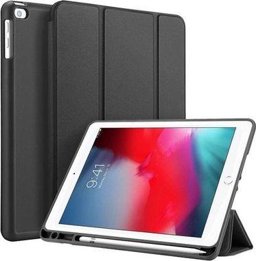 Dux Ducis OSOM Series Case met Apple Pencil houder iPad Air/Air 2/9.7 (2017)/9.7 (2018)/ iPad Pro 9.7 Zwart