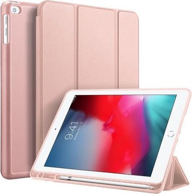Dux Ducis OSOM Series Case met Apple Pencil houder iPad Air/Air 2/9.7 (2017)/9.7 (2018)/ iPad Pro 9.7 Roze