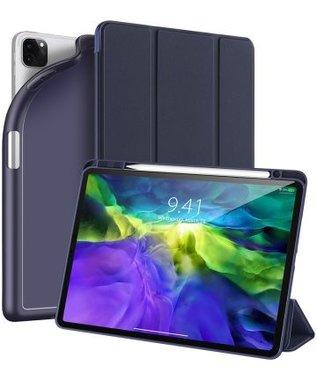 Dux Ducis OSOM Series Case met Apple Pencil houder iPad  Pro 11-inch 2020 en 2021 Donker Blauw