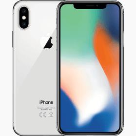 iPhone X 64GB Silver Refurbished