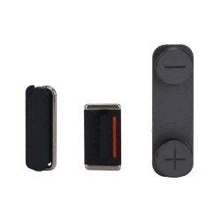Knoppenset voor de Apple iPhone 5 zwart