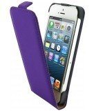 Mobiparts premium flip case Apple iPhone 5 purple
