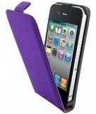 Mobiparts Premium flip case Apple iPhone 4/4s purple
