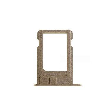 Nano Sim Tray/Simkaart houder Goudkleurig voor de Apple iPhone 5S en SE