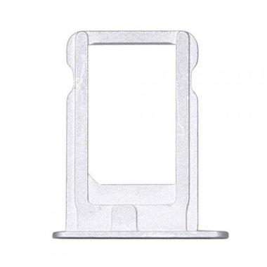 Nano Sim Tray/Simkaart houder voor de Apple iPhone 5, 5S en SE  Zilver