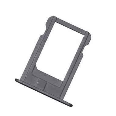 Nano Sim Tray/Simkaart houder voor de Apple iPhone 5S en SE Grijs/zwart