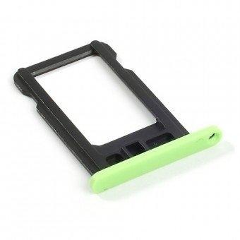 Micro Sim Tray/Simkaart houder voor de Apple iPhone 5C Groen