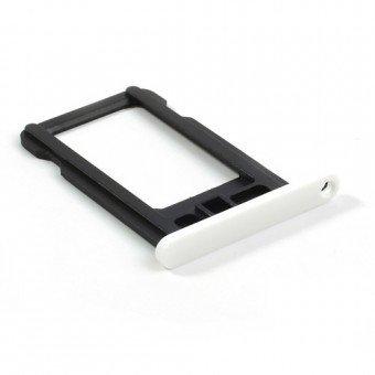 Micro Sim Tray/Simkaart houder voor de Apple iPhone 5C Wit