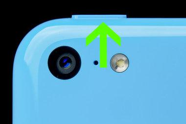 iPhone 5c - Aan/Uit Knop reparatie