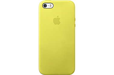 Apple iPhone 5/5S Case Geel MF043ZM/A