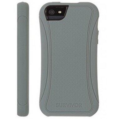 Griffin Survivor Slim Case Grijs voor de Apple iPhone 5C