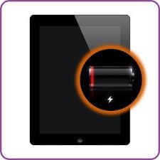 Accu / batterij reparatie voor iPad 4