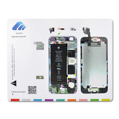 Apple iPhone 6 schroevenkaart magnetisch (demontage hulp)