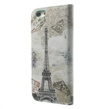 Wallet Book Case Eiffel Tower voor Apple iPhone 6/6S