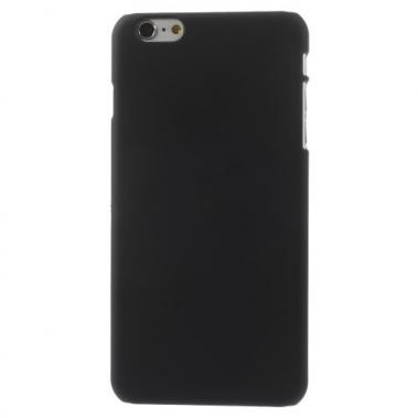 Hard Case Rubberized Zwart voor Apple iPhone 6 Plus/6S Plus