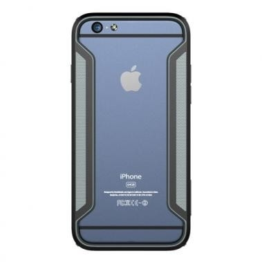 Nillkin Armor Border Bumper Zwart voor Apple iPhone 6/6S