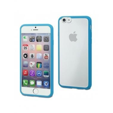 Muvit MyFrame Case Blauw/Transparant voor Apple iPhone 6 Plus/6S Plus