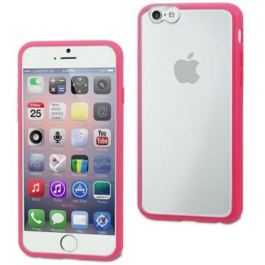 Muvit MyFrame Case Roze/Transparant voor Apple iPhone 6 Plus/6S Plus