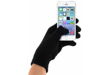 Mobiparts Touchscreen Handschoenen zwart (maat M)