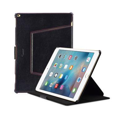 Leicke MANNA iPad Pro Hoes Leer Zwart