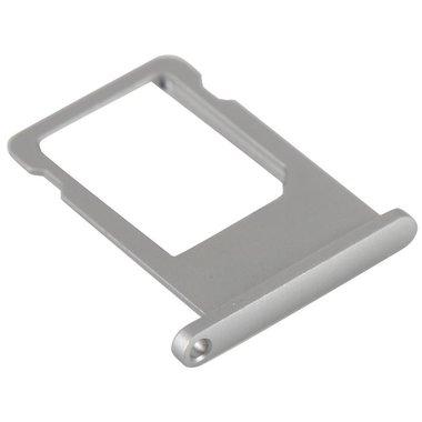 Simkaart houder voor Apple iPhone 6S Zilver