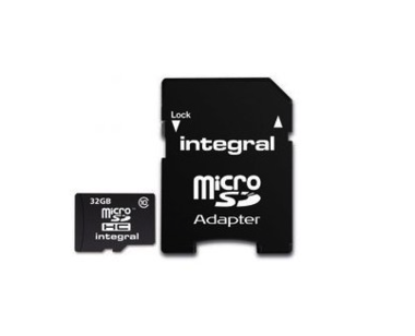 Integral MicroSDHC geheugenkaart - 32GB (incl. adapter)